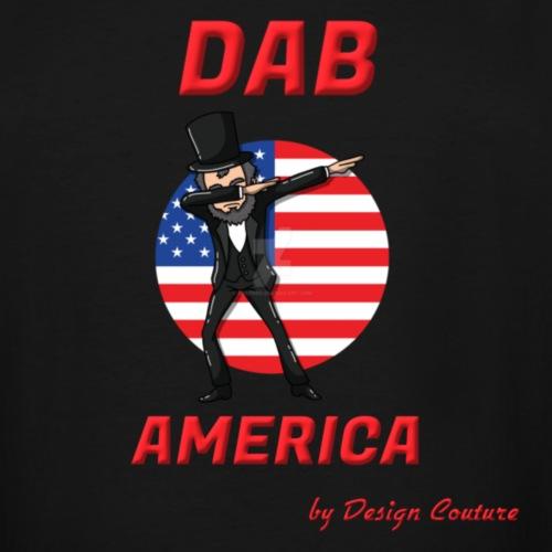 DAB AMERICA RED - Men's Tall T-Shirt