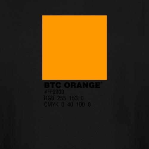 BTC Orange (Bitcoin Tshirt) - Men's Tall T-Shirt