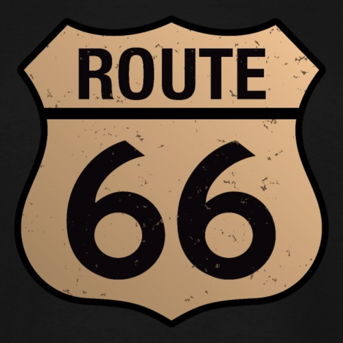 Route 66 - Men's Tall T-Shirt