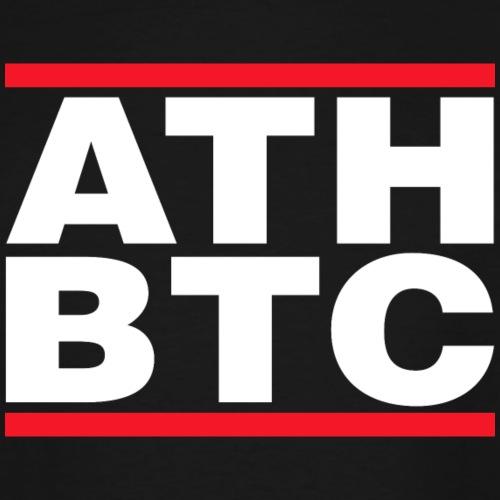 BTC Tshirt - ATH - Men's Tall T-Shirt