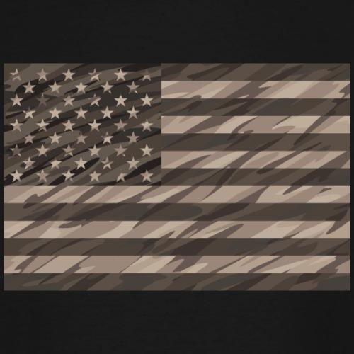 desert cammo flag t - Men's Tall T-Shirt