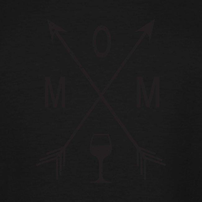Mom Loves Wine (black ink)