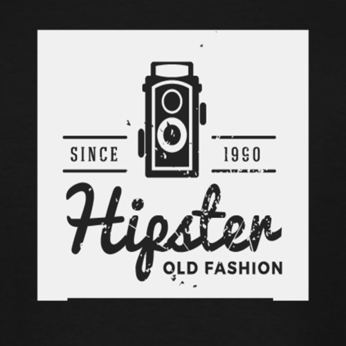 hipster4 - Men's Tall T-Shirt