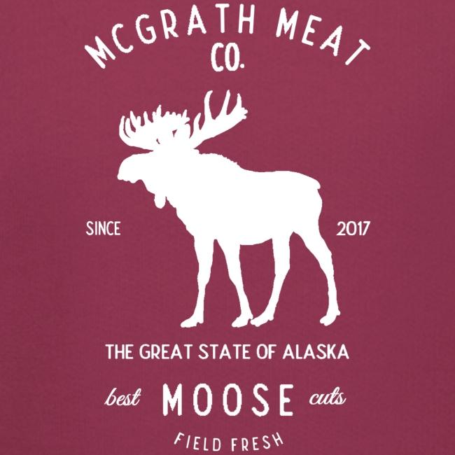 McGrath Meat Company White Stamp Logo