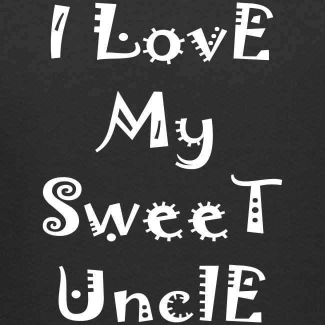 I love my sweet uncle