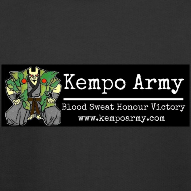 rsz kempo army sticker