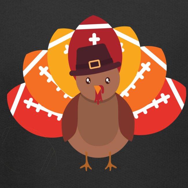Funny Turkey Football