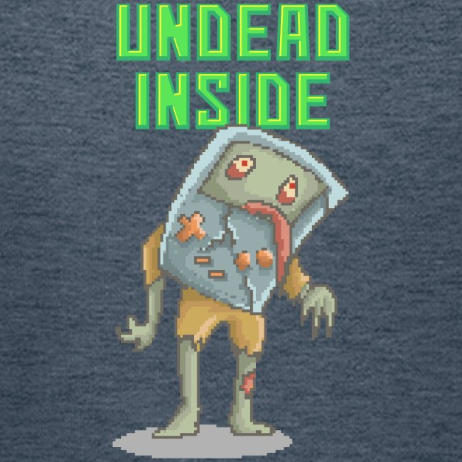 Zombie Video Game   Funny Zombie Pizelart