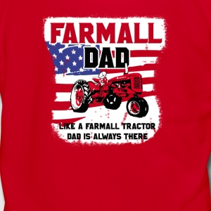 Farmall and Dad - Unisex Fleece Zip Hoodie by American Apparel