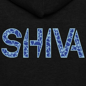 Shiva Logo - Unisex Fleece Zip Hoodie by American Apparel