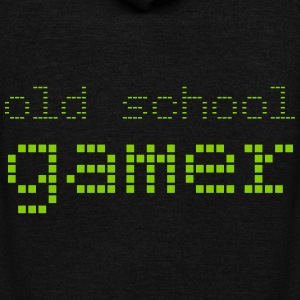 Old School Gamer - Unisex Fleece Zip Hoodie by American Apparel