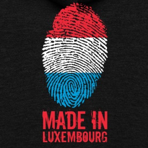 Made in Luxembourg - Unisex Fleece Zip Hoodie by American Apparel