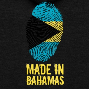 Made In Bahamas - Unisex Fleece Zip Hoodie by American Apparel