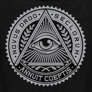 illuminati_domination - Unisex Fleece Zip Hoodie by American Apparel