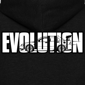 Evolution Lanc! - Unisex Fleece Zip Hoodie by American Apparel