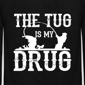 The Tug is My Drug T Shirt - Unisex Fleece Zip Hoodie by American Apparel