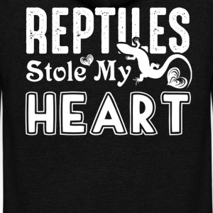 Reptiles Stole My Heart Shirts - Unisex Fleece Zip Hoodie by American Apparel
