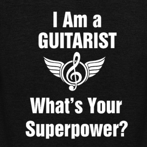 I am a Guitarist - What's your superpower? - Unisex Fleece Zip Hoodie by American Apparel