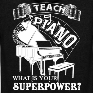 Piano Teacher T shirt - Unisex Fleece Zip Hoodie by American Apparel
