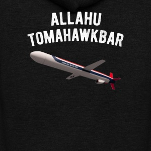 Allahu Tomahawkbar - Unisex Fleece Zip Hoodie by American Apparel