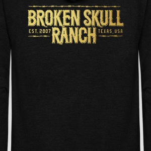 Broken Skull Ranch - Unisex Fleece Zip Hoodie by American Apparel