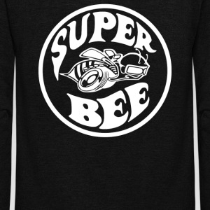 Super Bee - Unisex Fleece Zip Hoodie by American Apparel