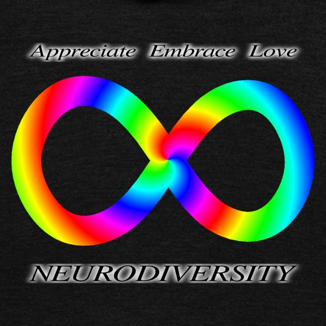 Embrace Neurodiversity with Swirl Rainbow