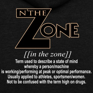 in the zone definition 3 - Unisex Fleece Zip Hoodie by American Apparel