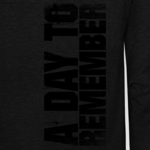 a day to remember - Unisex Fleece Zip Hoodie by American Apparel