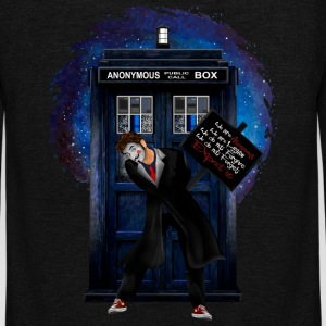 Doctor Anonymous - Unisex Fleece Zip Hoodie by American Apparel