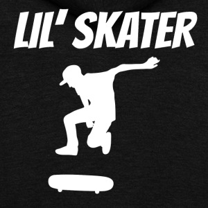 Lil Skater - Unisex Fleece Zip Hoodie by American Apparel