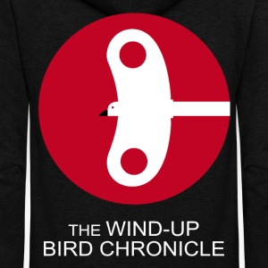 The Wind Up Bird Chronicle - Unisex Fleece Zip Hoodie by American Apparel