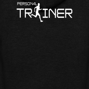 Personal Trainer Fitness - Unisex Fleece Zip Hoodie by American Apparel