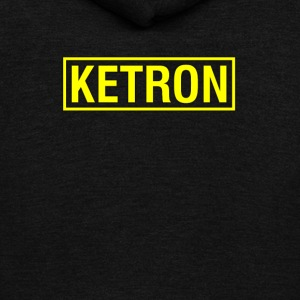 Ketron yellow - Unisex Fleece Zip Hoodie by American Apparel