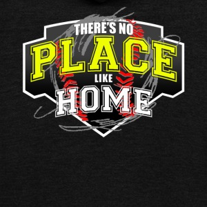 THERE S NO PLACE LIKE HOME - Unisex Fleece Zip Hoodie by American Apparel