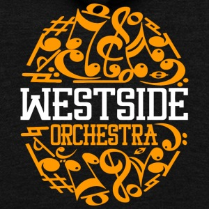 WESTSIDE ORCHESTRA - Unisex Fleece Zip Hoodie by American Apparel