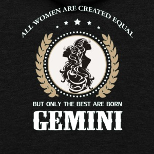 Gemini T Shirt - Unisex Fleece Zip Hoodie by American Apparel