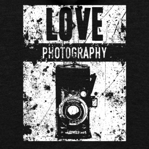 LOVE PHOTOGRAPHY - Unisex Fleece Zip Hoodie by American Apparel