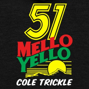 Race mello yello - Unisex Fleece Zip Hoodie by American Apparel