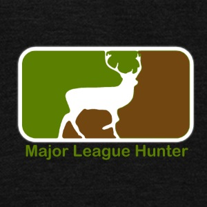 Major League Hunter - Unisex Fleece Zip Hoodie by American Apparel