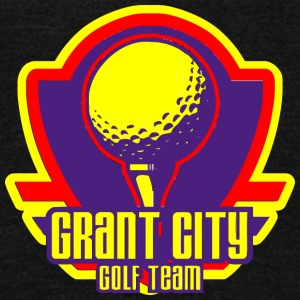 Gra Grant City Golf Teamnt City - Unisex Fleece Zip Hoodie by American Apparel