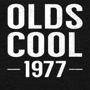 Birthday 40 Years Old Funny Olds Cool 1977 Pun - Unisex Fleece Zip Hoodie by American Apparel
