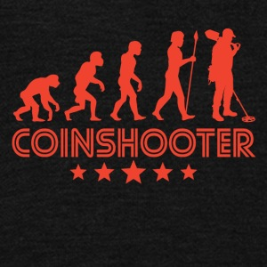 Retro Coinshooter Evolution - Unisex Fleece Zip Hoodie by American Apparel
