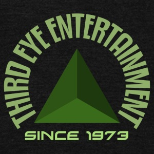 Third eye entertainment green - Unisex Fleece Zip Hoodie by American Apparel