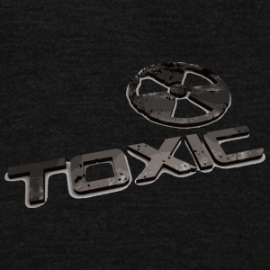 Toxic - Unisex Fleece Zip Hoodie by American Apparel