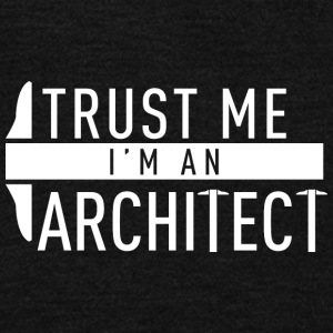 Trust me i'm an architect - Unisex Fleece Zip Hoodie by American Apparel