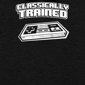Classically Trained Video Game Console - Unisex Fleece Zip Hoodie by American Apparel