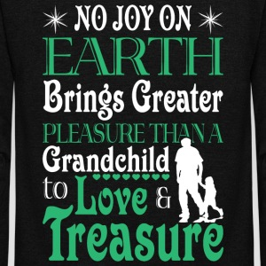 Grandchild To Love And Treasure T Shirt - Unisex Fleece Zip Hoodie by American Apparel