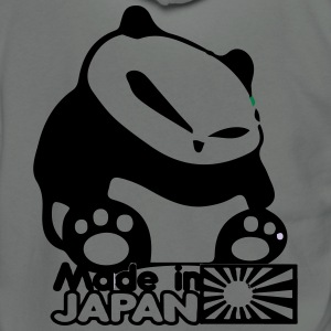 Made In Japan Panda - Unisex Fleece Zip Hoodie by American Apparel