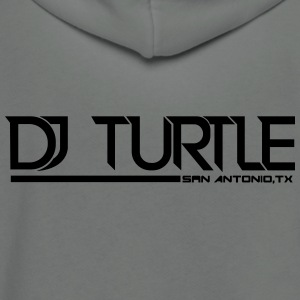 vector djturtle - Unisex Fleece Zip Hoodie by American Apparel